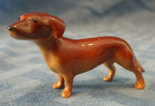 Hagen Renaker Miniature Dachshund Dog, # 347, Made in Usa