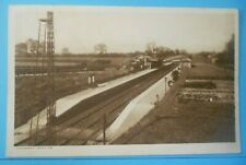 More details for cartwright postcard c.1925 the railway station stickney lincolnshire