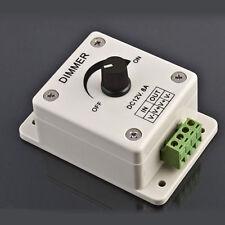 12V 8A PIR Sensor LED-Streifen Licht Schalter Dimmer Helligkeits-Steuerpult New