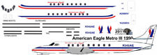 American Eagle Metro III decals for Contrails 1/144 kits