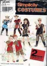 Cavemen VIKING Prehistoric COSTUME SEWING Patterns Sz Sml to Lg Childs
