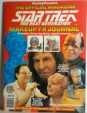 Star Trek:Next Generation Official Make Up FX Journal Magazine- FREE S&H(C5272)