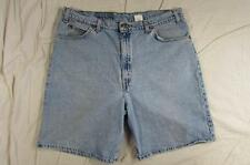 "Levi's 550 Relaxed Fit Faded Denim Shorts 38"" Waist Mens 9"" Inseam Jorts"