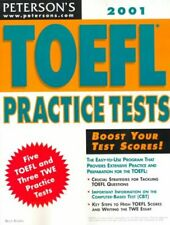 TOEFL Practice Tests 2001 by Rogers, Bruce