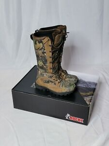 """Rocky Men's 16"""" Prolight Waterproof Snake Boots In Mossy Oak Break Out"""