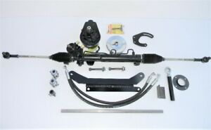 71 72 73 Chevy Nova Rack and Pinion Power Steering Conversion SBC, BBC, 6 Cyl.