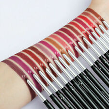 Waterproof Pencil Lipstick Pen Matte Lip Liner Long Lasting Makeup Multifunction