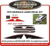 1976 Skiroule Laser Reproduction Decal Kit  340 440 440+  graphics stickers