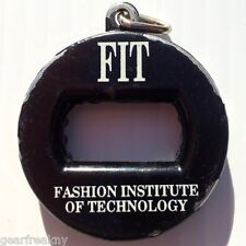 VTG FASHION INSTITUTE OF TECHNOLOGY NYC COLLEGE KEYCHAIN SODA BEER BOTTLE OPENER