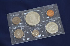 1970 Panama 6 Coin Proof Set with 1/2 & 1 Silver Balboas Original Package E2170