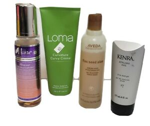 Haircare Lot Loma Kenra Aveda The Mane Choice Full Size Partially Full 4 Piece
