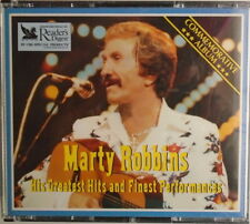 MARTY ROBBINS-CD - 3 DISCS-His Greatest Hits And Finest Performance - LIKE NEW