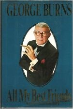 All My Best Friends by David Fisher and George Burns (1989, Hardcover)