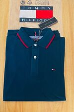 Tommy Hilfiger Men's Polo T-Shirt Green Colour XL Size Pit to Pit 44''-46''