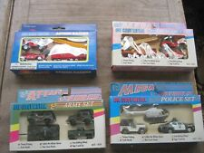 4 New Sets Die-Cast Emergency & Military Vehicles, Coventry & Polytech Toy, 1:64