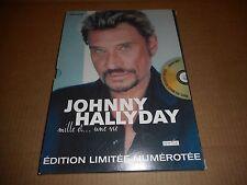 """Livre Johnny Hallyday  """"Mille et ... une vie""""  (édition Limitée)"""