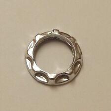 PLASTIC CHROME FINISH RING FOR THREADED CANDELABRA SOCKET NEW 40293JB