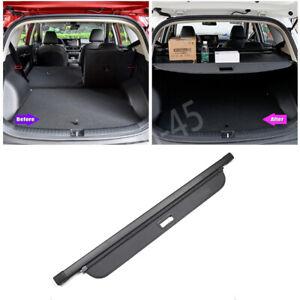 For Kia Seltos 2020-2022 Black Car Trunk Cargo Cover Security Shield Shade Decor