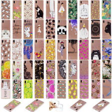 New Slim Clear Soft Silicone TPU Rubber Back Case Cover For Huawei P20 Sony XZ2