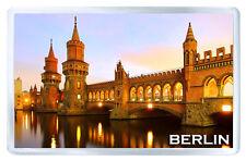 BERLIN GERMANY MOD8 FRIDGE MAGNET SOUVENIR IMAN NEVERA