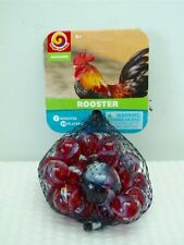 ROOSTER Bag 24 Player Mega Fun Marbles &1 Shooter-Instructions & Facts