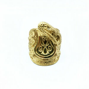 Saddle Ring Gold Polished Platinum Metal Unisex Daily use - Available all Size