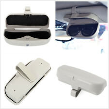 Car-Styling Sun Visor Sunglasses Eyeglasses Gray Storage Holder Card Ticket Clip