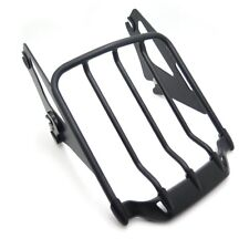 Detachable Luggage Rack For Harley '09-'17 Touring Road King/Road Glide Flat Bla