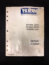 Yamaha Boat Amp Watercraft Repair Manuals Amp Literature For border=