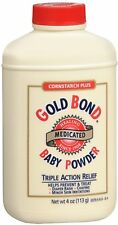 Gold Bond Baby Powder Cornstarch Plus Medicated 4 Oz