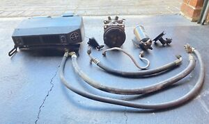 CLASSIC AIR CONDITIONING UNIT UNDER DASH SUIT EARLY MODEL FORD/HOLDEN (USED)