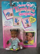 Brand New Teeny Tiny Tumbles Surprise Toy Biz 1996 African American Blue Outfit