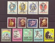 Hungary, Issues of 1959, Cancelled to Order hinged, OLD