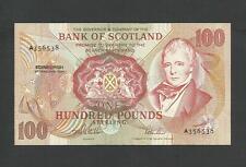 More details for bank of scotland  £100  single prefix   last date   edinburgh  1994   p118ab