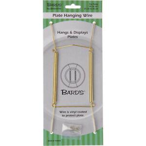 "Bard's Gold Wall Mountable Plate Hanger (Plates 10""-14"")"