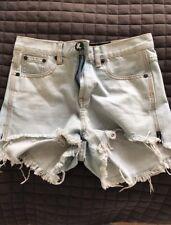 One Teaspoon High Waisted Denim Shorts