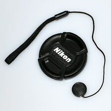 Nikon snap-on 58 mm Front Lens Cap  with cord AF-S 50 1.4g 1.8G 55-300 35 1.8