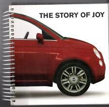 Fiat 500 'The Story Of Joy' 2007 UK Market Spiral Bound Preview Sales Brochure