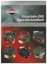 Briggs & Stratton Reparaturhandbuch Werkstatthandbuch OHV B&S Handbuch 1-Zylinde