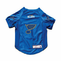 NEW ST. LOUIS BLUES DOG CAT DELUXE STRETCH JERSEY