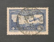 France #C6 VF USED - 1931 1.50fr Plane Over Marseille, Church Of Notra Dame