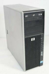 HP Z400 Workstation Intel Xeon W3505 2.53GHz 8GB DDR3 Quadro FX 380 Fair No HDD