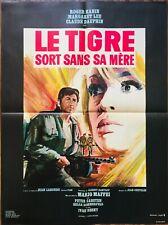 Affiche Cinéma LE TIGRE SORT SANS SA MÈRE 60x80cm Poster / Roger Hanin