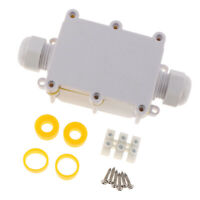 Waterproof PC Housing Electric Project Case Junction Box 135x57x37mm