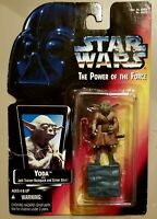 Kenner 1995 STAR WARS POWER OF THE FORCE Yoda Action Figure