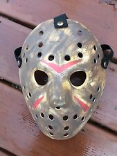 CUSTOM MADE Jason Voorhees FRIDAY THE 13th hockey mask Halloween costumes