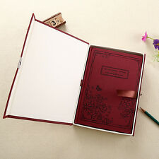 Diaries With Locks Journal Notebook Retro Diary With Lock Agendas Notebook