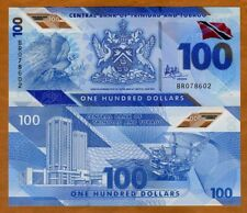 Trinidad and Tobago, 100 dollars, 2019, P-NEW, Polymer New Design, UNC