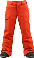 Burton Boys The White Collection Throttle Snowboard Pants (M) T-Bone