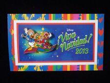 Disney Pin DLR Viva Navidad 2013 - The Three Caballeros Donald, Jose, & Panchito